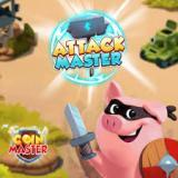 Attack option in Coin Master game