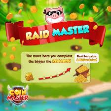 Raid option in Coin Master Game